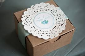 cookie box favors make a donation to a charity instead of wedding favors