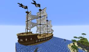 minecraft build pirate ship the reina cubecraft games
