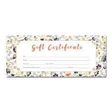 25 unique blank gift certificate ideas on pinterest free gift