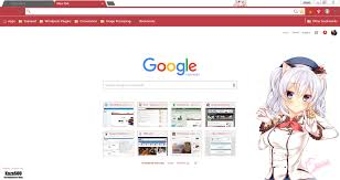 chrome themes cute google chrome theme kashima 2 randomness thing