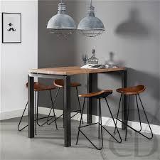fascinant table haute de cuisine bloc2 283 29 chaise en verre