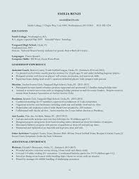 The Best Free Resume Templates by Examples Of Resumes How To Set Out A Proper The Best Resume