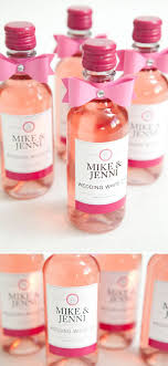 wine wedding favors where to find mini wine bottles for your wedding woman getting