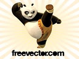 kung fu panda vector vector art u0026 graphics freevector