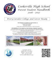 handbook16 17 pdf by cookeville high issuu