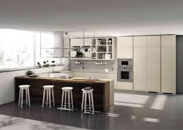 Built In Kitchen Islands Furniture Outstanding Scavolini Kitchens With White Barstools And