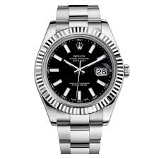 rolex black friday rolex datejust ii black dial stainless steel and 18k white gold