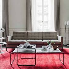 sofa relax knoll florence knoll relax 3 seat sofa