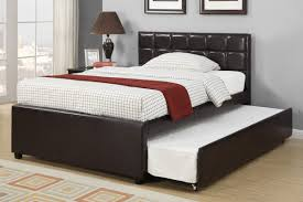 full bed compared to twin espresso full size bed with twin size trundle bed bedroom