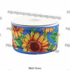 sunflower ribbon online get cheap ribbon grosgrain sunflower aliexpress