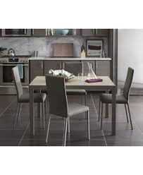 Dining Room Sets With Fabric Chairs by Macchiato Upholstered Dining Chair Furniture Macy U0027s