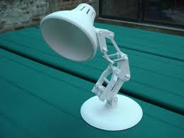 Luxo Desk Lamp by Snap Together Mini Lamp By Makerbot Thingiverse