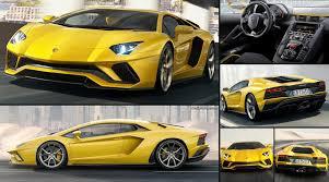 Lamborghini Aventador All Black - lamborghini aventador s 2017 pictures information u0026 specs