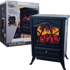 warm house 80 40608 retro floor standing electric fireplace