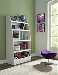 Toy Box With Bookshelves by Amazon Com Kidkraft Bookcase With Reading Nook Toy White Toys