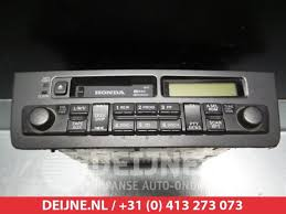 2002 honda civic radio used honda civic ep eu 1 4 16v radio 39100s6ag100 v deijne