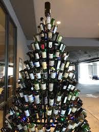 tree wine rack design
