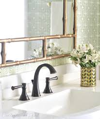 Gold Bathroom Faucets Green Gold Bathroom Makeover Centsational Style