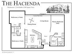 small style home plans courtyard home plan when we build in mexico this is what i kinda