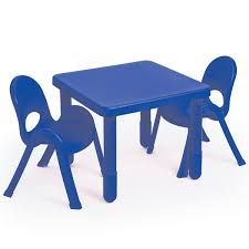 Plastic Table And Chairs Angeles Myvalue Set 2 Preschool Matching Table And Chairs
