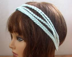 crochet hair bands crochet hairband etsy