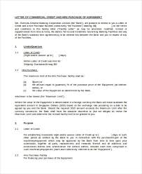 40 commercial agreement examples and samples