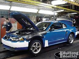 ford mustang assembly plant tour 2003 2004 mach 1 mustang monthly