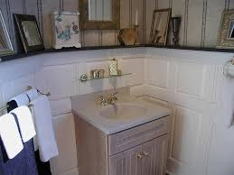wainscoting ideas for bathrooms amys office