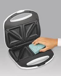 Easy Clean Toaster Proctor Silex Sandwich Maker Model 25408y Walmart Com