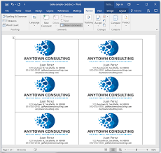 How To Create Business Cards In Word 28 How To Make Business Cards In Microsoft Word How To Make
