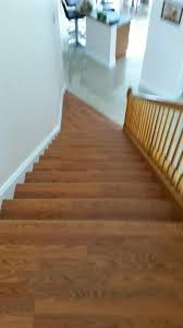 Laminate Flooring On Steps Staircase Refinishing Real Hardwood Or Laminate Custom Finishing