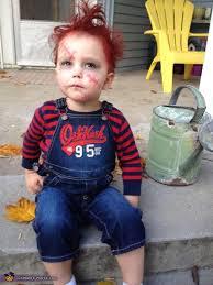 Toddler Chucky Halloween Costume Diy Chucky Costume Babies