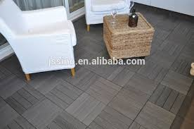interlocking waterproof composite deck tile wpc interlocking solar