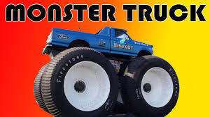Fun For Kids Monster Truck Cars Video Game Youtube