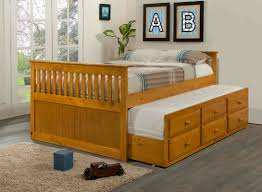 Captains Bed Bedroom Captain Beds With Trundle Captains Bed Twin With