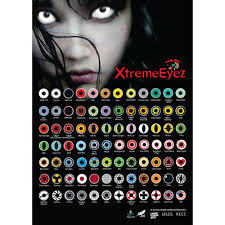 mesmereyez fancy dress halloween contact lenses white out