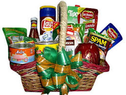 send christmas gift basket baskets to cebu philippines