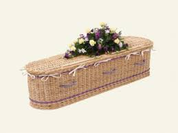wicker casket elizabeth snell family coffins