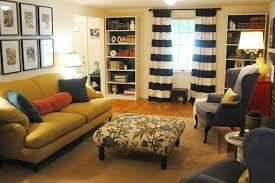 Brown And White Striped Curtains Home Decor Popularity Of Black And White Striped Curtains For