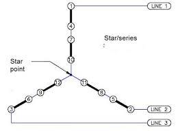 three phase star connection livre power lda