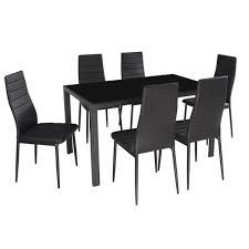 table de cuisine en verre trempé best table de cuisine noir gallery amazing house design