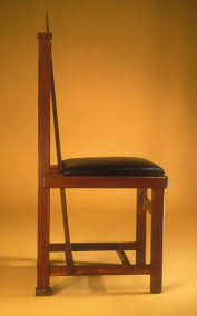side chair frank lloyd wright 1981 437 work of art