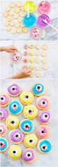 spooky and cute zombie eyeball halloween cookies easy halloween