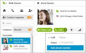 skype de bureau comment ajouter un numéro de téléphone à un contact dans skype