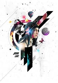 photoshop design tutorials 140 ps tutorials create a mixed media style design in photoshop