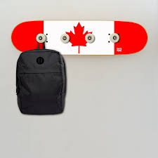 Dimensions Of Canadian Flag Flag Of Canada On Wall Coat Rack For The Decoration Of A Skate Room