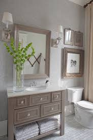 i like the painted vanity and the painted pipes behind the toilet