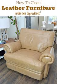 How To Clean Leather Sofas by How To Clean Leather Furniture Naturally Mom 4 Real