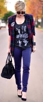 how to style the band tee with daily mister vintage rock tees