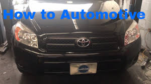 toyota rav4 starting problems how to replace the starter on a 2005 2012 toyota rav4 with 2 4l